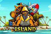 Остров аппарат на деньги