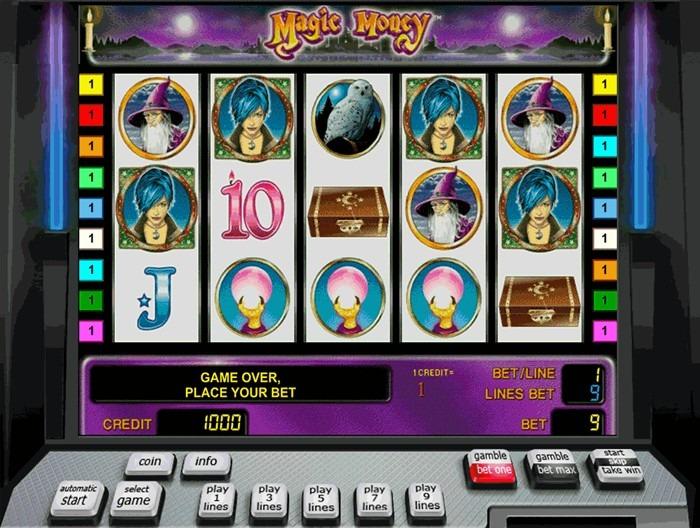 Играть в слот Магия денег