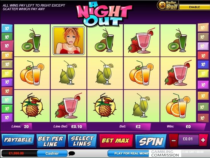 Азартный слот Ночи напролет за деньги