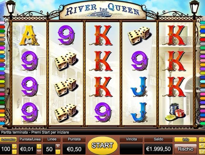 Игровые автоматы River Queen