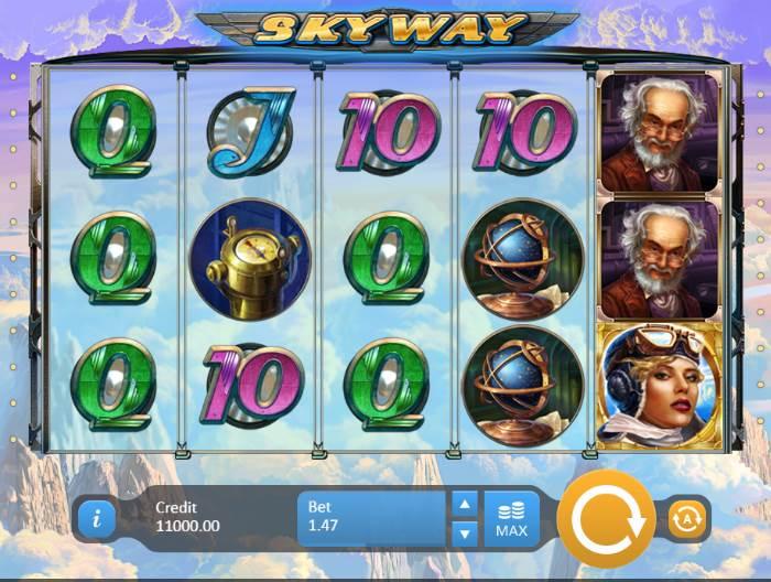 Играть в Sky Way онлайн
