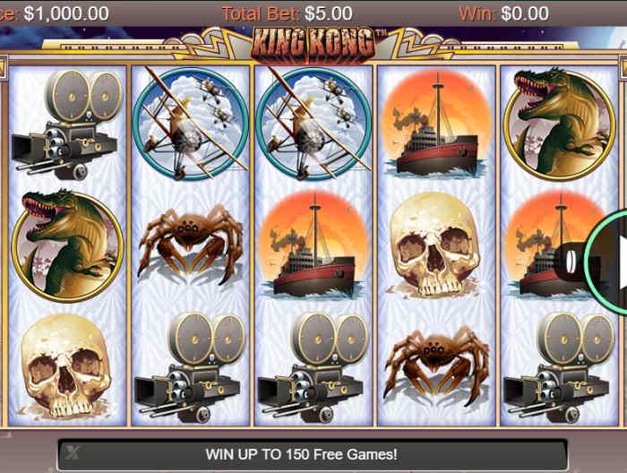 Играть в автоматы King Kong
