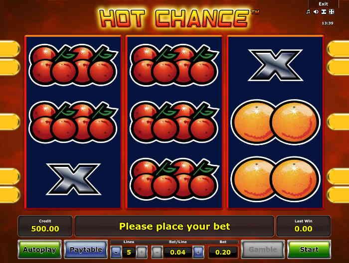 Игровой автомат Горячий Шанс