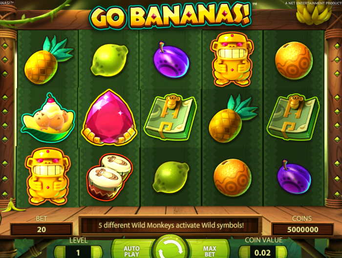 Автомат Go Bananas
