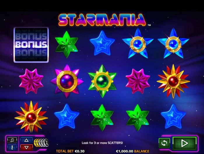 Игровой автомат Starmania